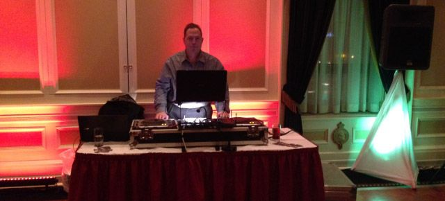 DJ services at Hypno Dance party with James Grant