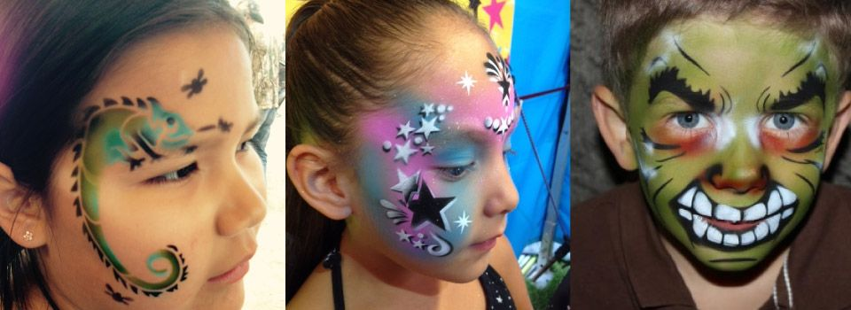 b0422227f Airbrush Tattoos - Sparkle Girls - James Grant Productions