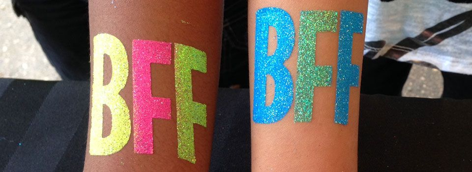 Glitter Tattoos from the Sparkle Girls 8