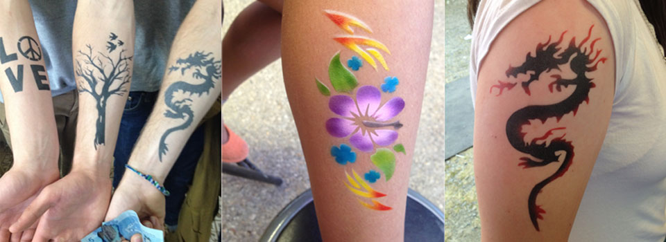 Airbrush Tattoos 5