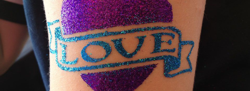 Glitter Tattoos from the Sparkle Girls 9